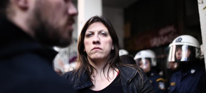 Η πρόεδρος της Πλεύσης Ελευθερίας Ζωή Κωνσταντοπούλου- φωτογραφία sooc.gr