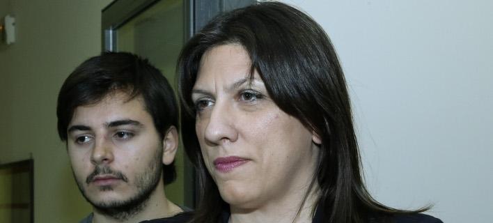 Η πρώην πρόεδρος της Βουλής και επικεφαλής της Πλεύσης Ελευθερίας Ζωή Κωνσταντοπούλου- φωτογραφία intimenews
