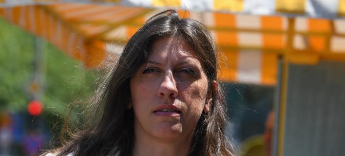 Η πρόεδρος της Πλεύσης Ελευθερίας Ζωή Κωνσταντοπούλου- φωτογραφία intimenews
