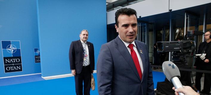 Ο πρωθυπουργός της «Βόρειας Μακεδονίας» Ζόραν Ζάεφ- φωτογραφία sooc.gr