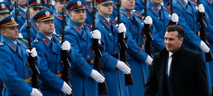 Φωτογραφία: O πρωθυπουργός των Σκοπίων, Ζόραν Ζάεφ/AP