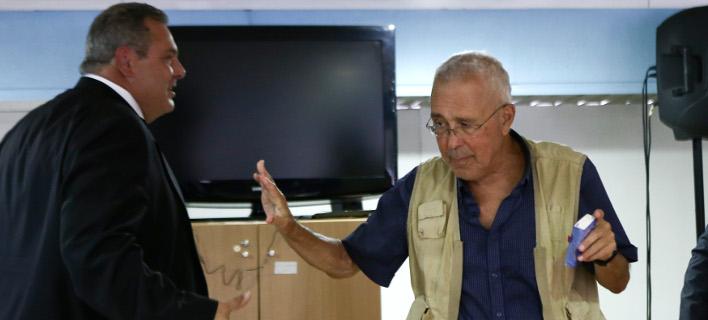 Ο Κώστας Ζουράρις και ο Πάνος Καμμένος -Φωτογραφία: Intimenews/ΤΖΑΜΑΡΟΣ ΠΑΝΑΓΙΩΤΗΣ