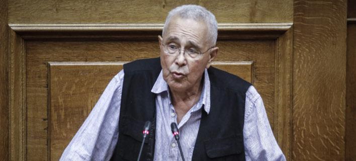 Ο Κώστας Ζουράρις (Φωτογραφία: EUROKINISSI/ ΓΙΩΡΓΟΣ ΚΟΝΤΑΡΙΝΗΣ)