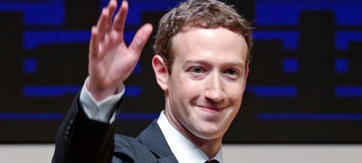 Ο ιδρυτής του Facebook, Μαρκ Ζούκερμπεργκ. Φωτογραφία: AP