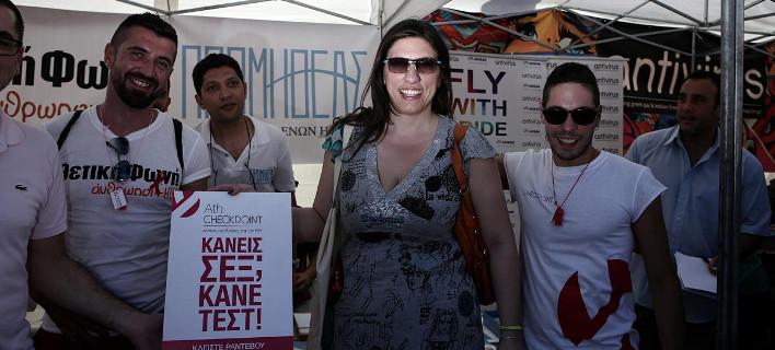 Αποθεώθηκε η Ζωή στο Athens Pride: «Η πορεία του χρόνου πρέπει να περάσει και μέσα από τη Βουλή», είπε [εικόνες]
