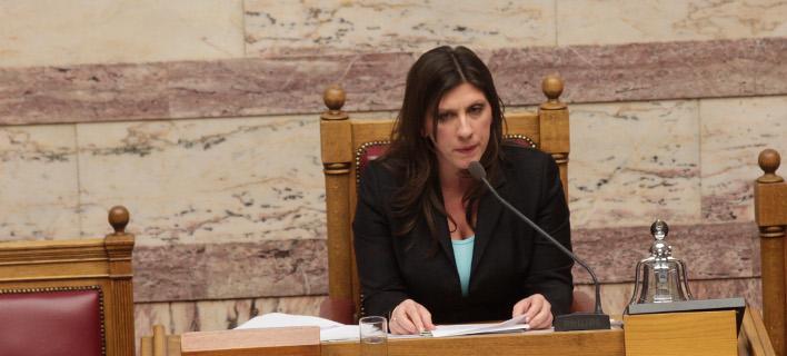 Η Ζωή Κωνσταντοπούλου διώχνει από τα γραφεία τους στη Βουλή τους πρώην Πρωθυπουργούς