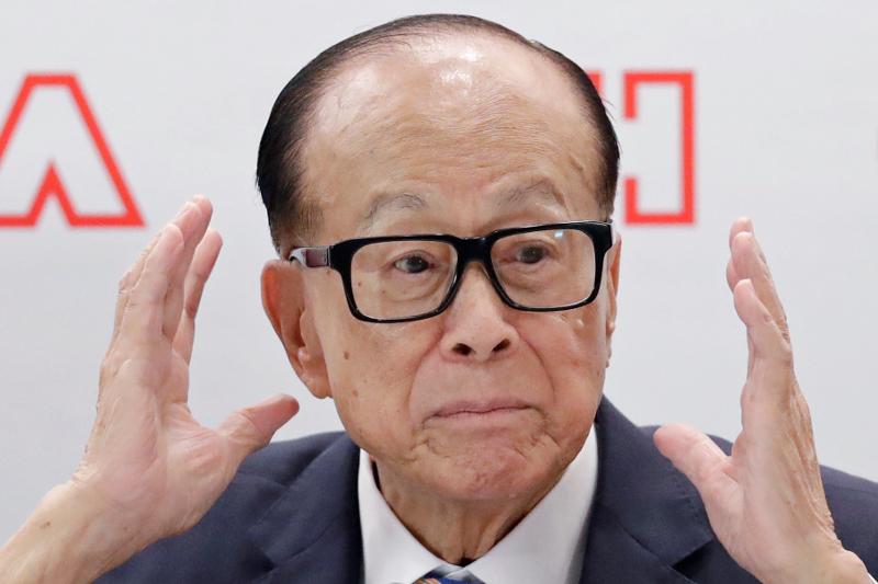 Ο πλουσιότερος άνθρωπος στο Χονγκ Κονγκ, Λι Κα-σινγκ.