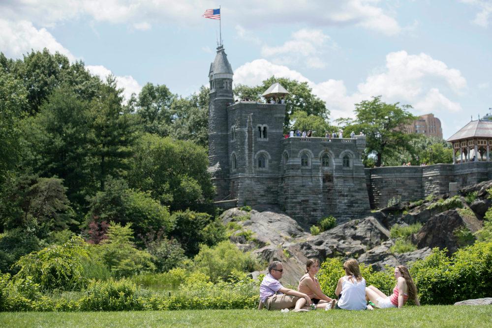 Το κάστρο Μπελβεντέρε στην καρδιά του Σέντραλ Πάρκ της Νέας Υόρκης