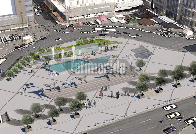 Η νέα πλατεία Ομονοίας αναμένεται να γίνει ξανά σημείο συνάντησης των Αθηναίων.
