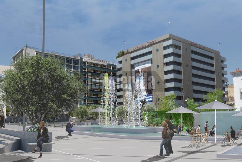 Με την ανακατασκευή της πλατείας Ομονοίας, ενθαρρύνονται νέες επενδύσεις.