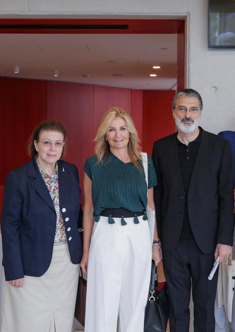 ΛΪνα Μενδώνη, Μαρέβα Γκραμπόφσκι Μητσοτάκη, Γιώργος Κουμεντάκης