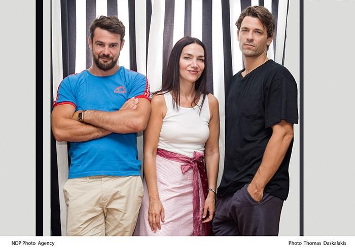 τρεις ηθοποιοί