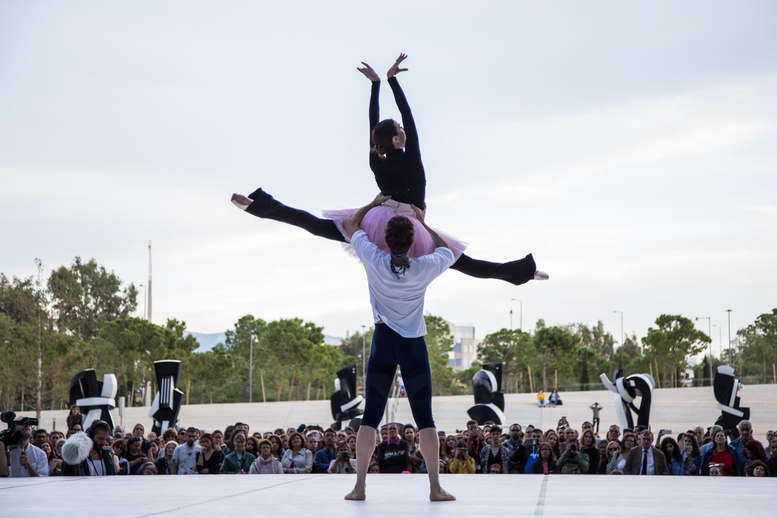 Επιδείξεις χορού στο ΚΠΙΣΝ