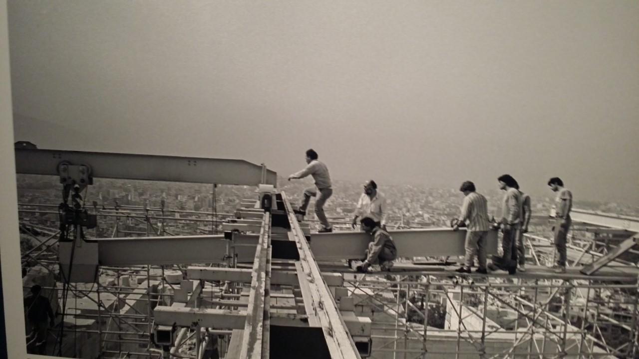 Εργάτες στην Ακρόπολη