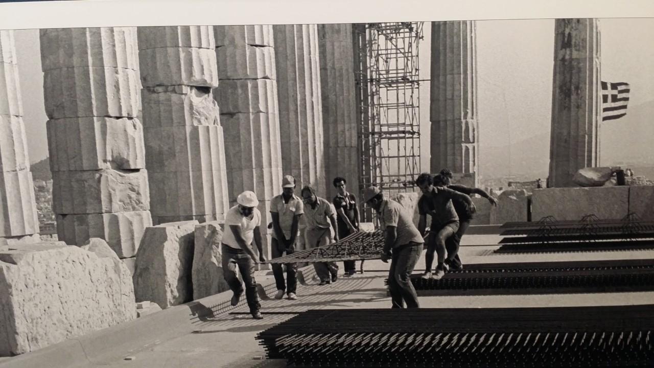 Ακρόπολη εργάτες