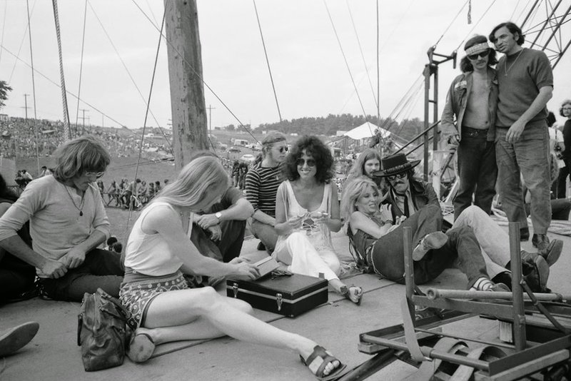 Grace Slick και Jefferson Airplane στη σκηνή του Γούντστοκ 1969