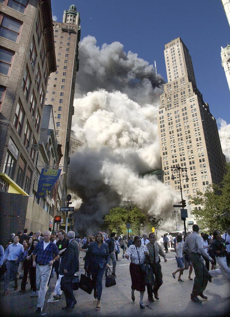 Σκόνη και καπνός στη Νέα Υόρκη