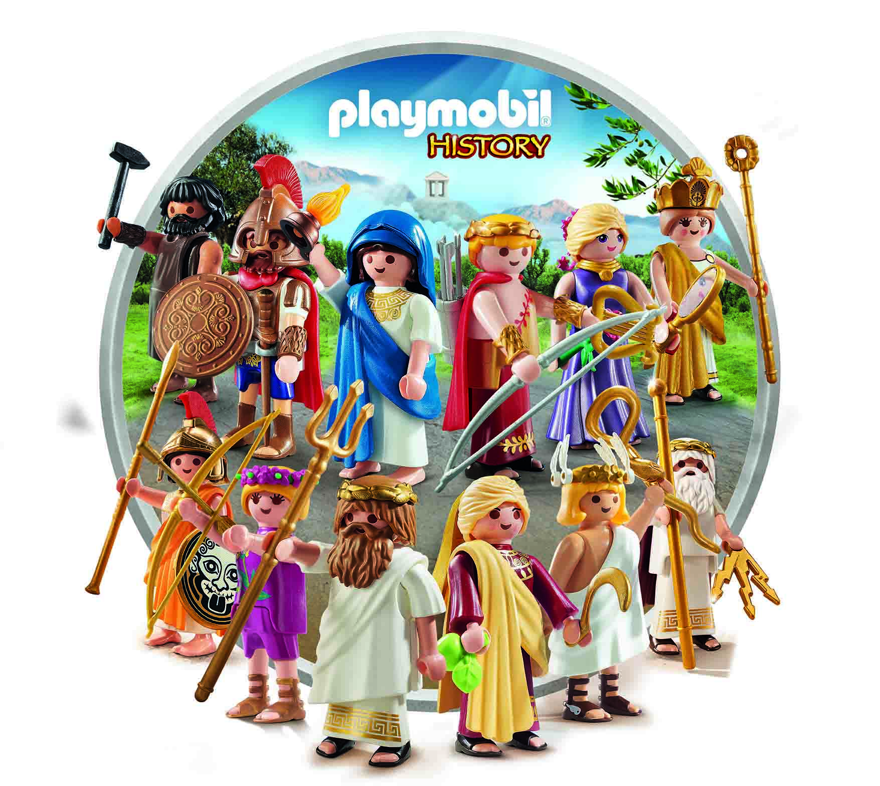 Μαθήματα μυθολογίας με τις φιγούρες της PLAYMOBIL