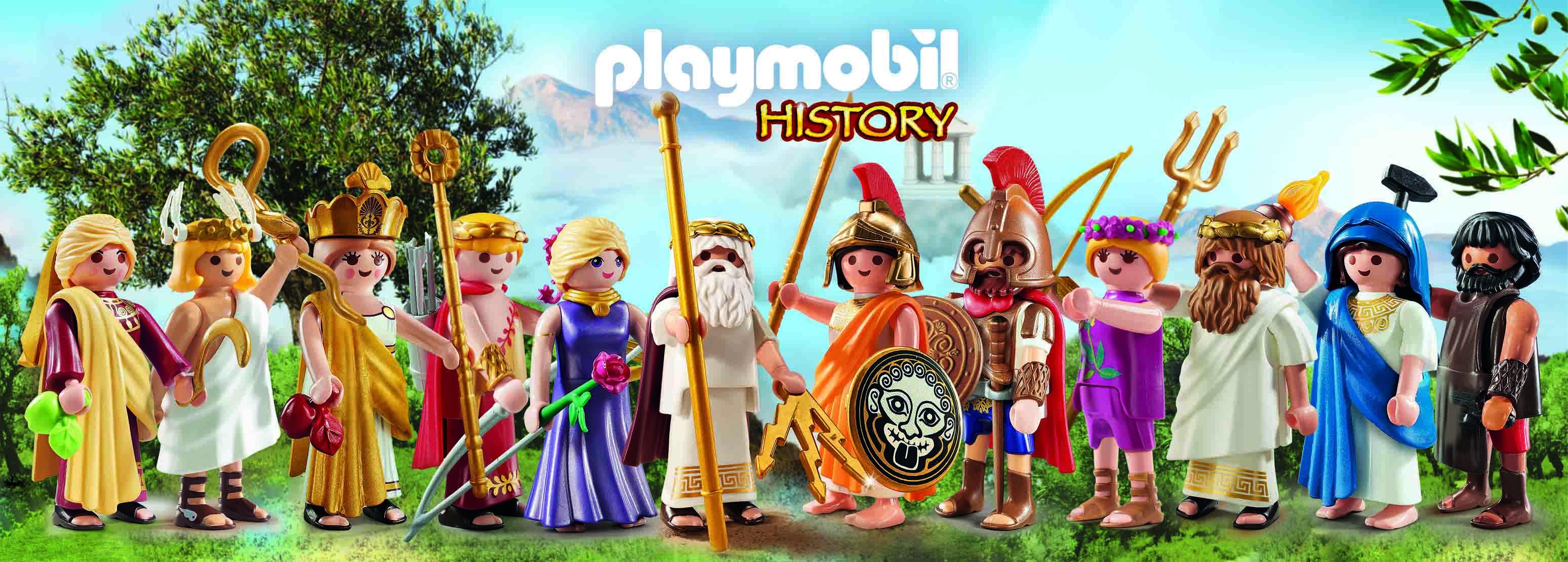 Η PLAYMOBIL παρουσιάζει τους 12 Θεούς του Ολύμπου