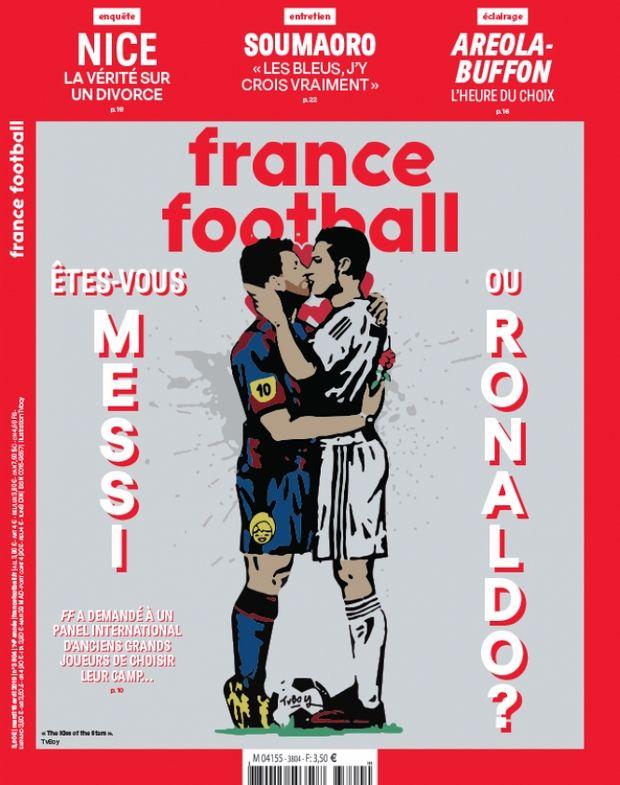 Το επίμαχο πρωτοσέλιδο του France Football