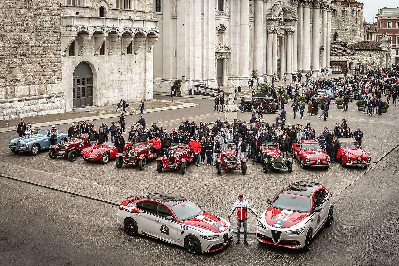 Η 38η αναβίωση του αγώνα που ο Enzo Ferrari αποκαλούσε ως «τον ωραιότερο αγώνα του κόσμου», θα διεξαχθεί την περίοδο 13 με 16 Μαΐου 2020 στην κλασσική διαδρομή Brescia-Rome-Brescia.