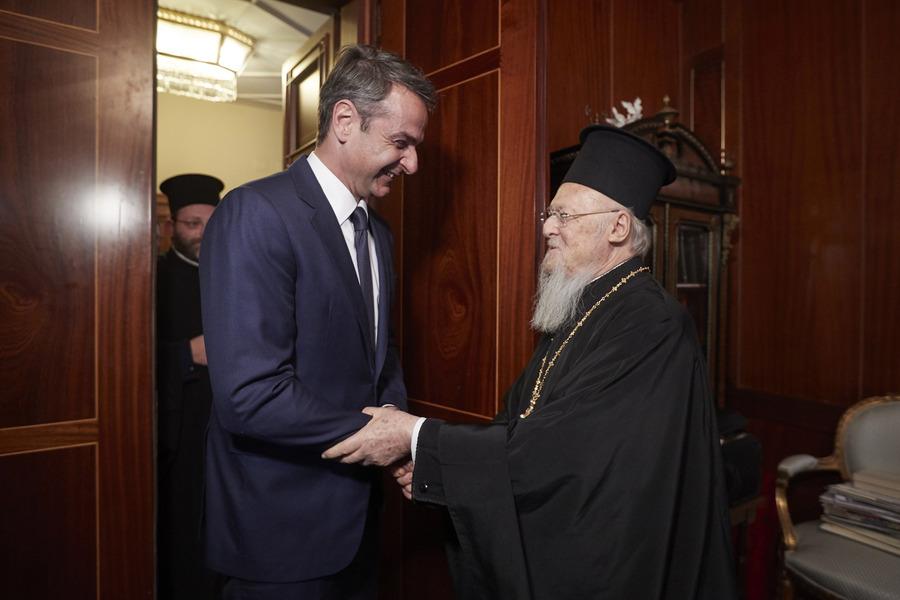 Κυριάκος Μητσοτάκης, Οικουμενικός Πατριάρχης Βαρθολομαίος