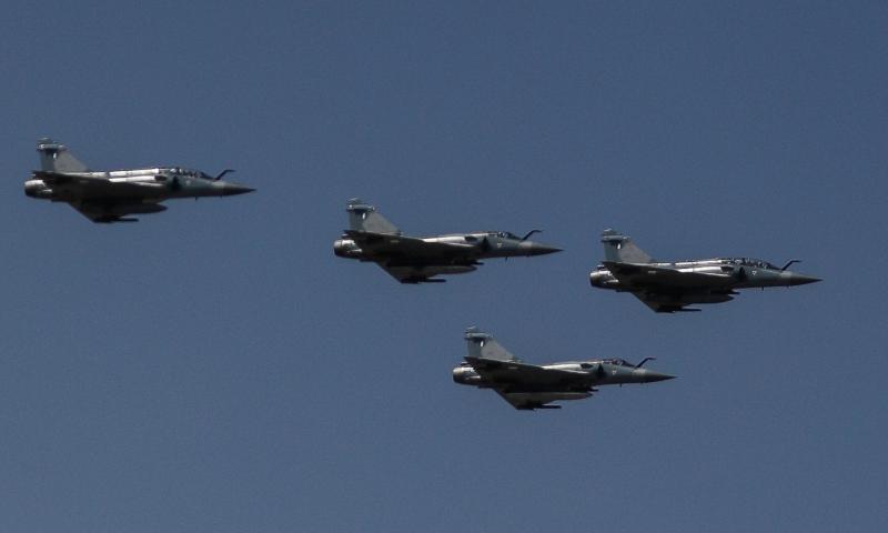 Μαχητικά Mirage πέταξαν πάνω από την Αθήνα