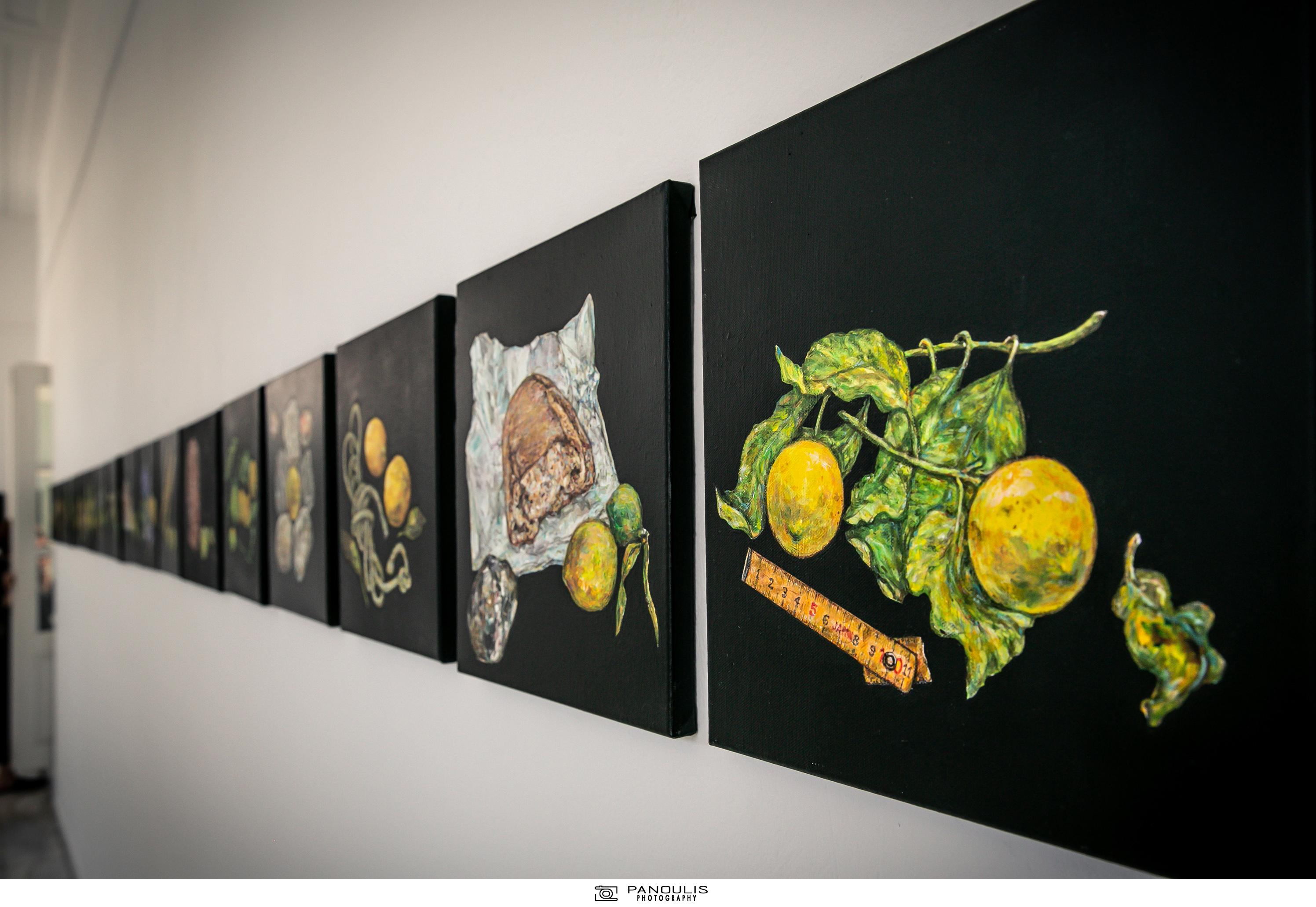 Πίνακες με λεμόνια