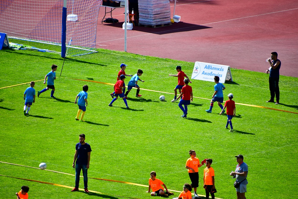 Στιγμιότυπα από το Φεστιβάλ Αθλητικών Ακαδημιών ΟΠΑΠ στο Βόλο