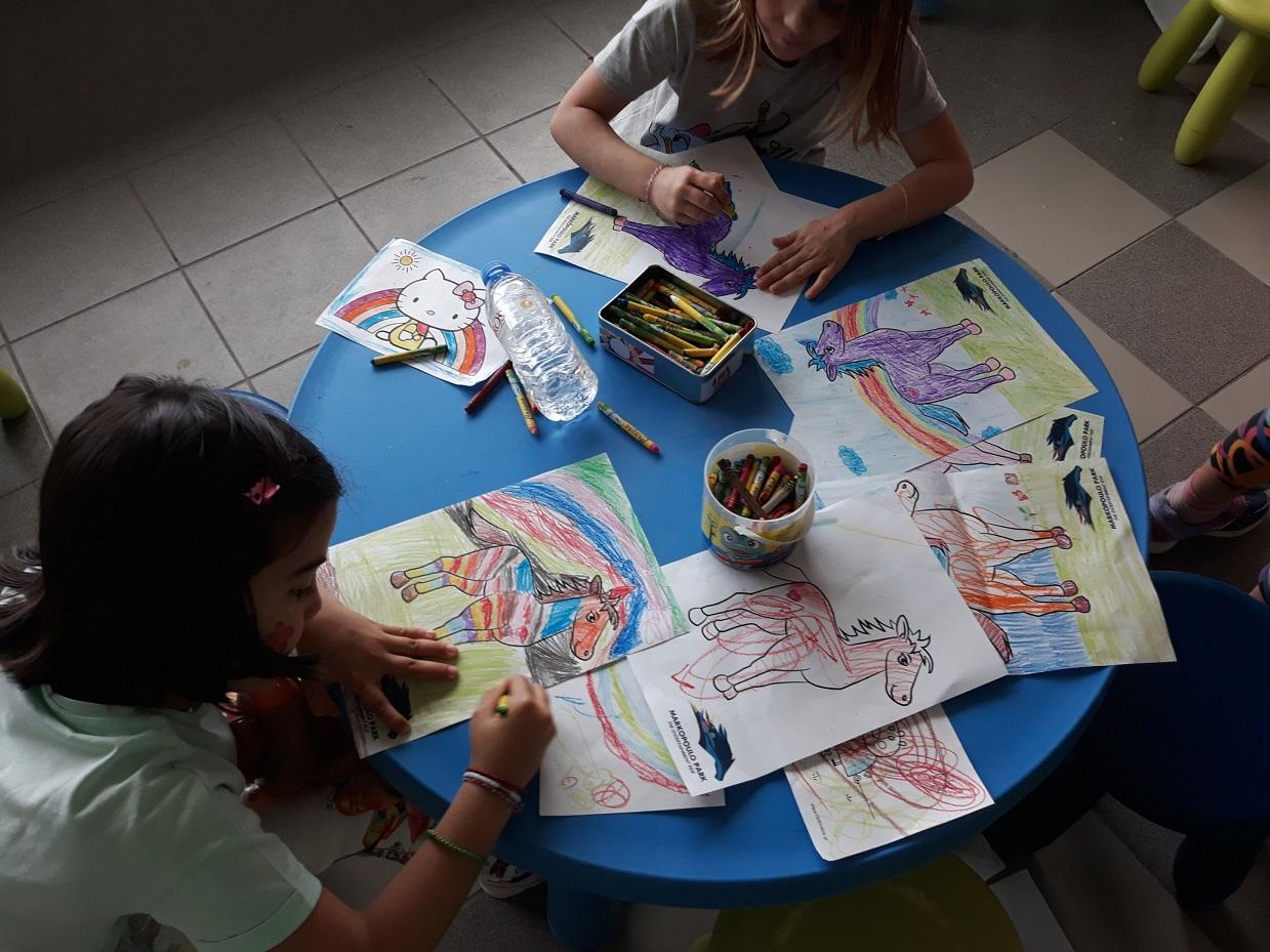 Τα παιδιά διασκεδάζουν κάθε Κυριακή στο Markopoulo Park