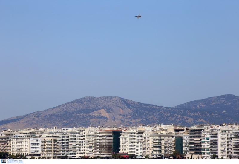 Εκδηλώσεις για την 28η Οκτωβρίου στη Θεσσαλονίκη - Μαχητικό στον ουρανό της συμπρωτεύουσας