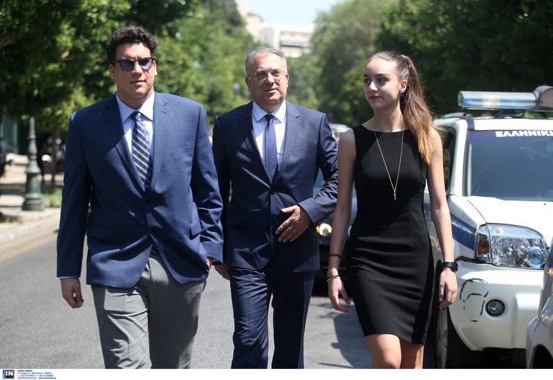 Ο νέος υπουργός Εσωτερικών Τάκης Θεοδωρικάκος