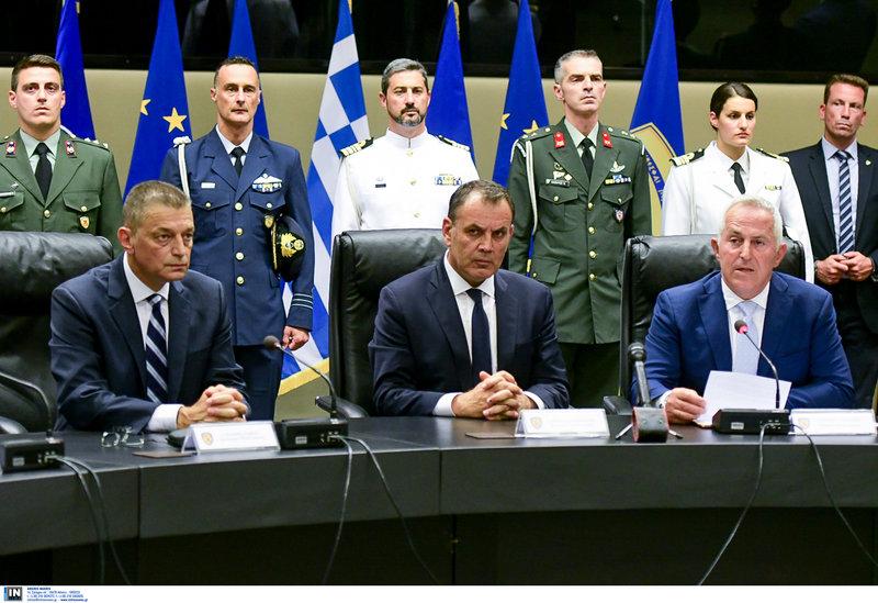 Νίκος Παναγιωτόπουλος και Ευάγγελος Αποστολάκης