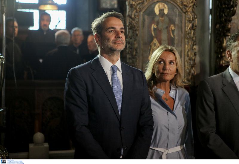 Κυριάκος Μητσοτάκης και Μαρέβα Γκραμπόφσκι