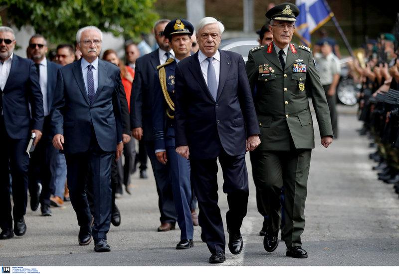 Ο Προκόπης Παυλόπουλος προσέρχεται στην Παναγία Σουμελά
