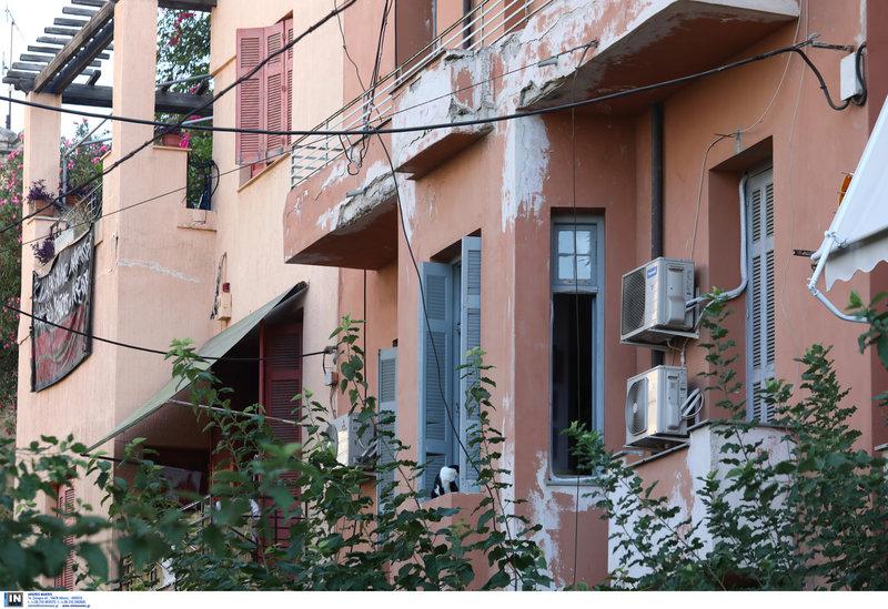 Υπό κατάληψη κτίριο στα Εξάρχεια