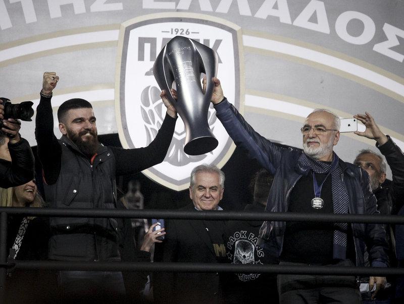 Γιώργος Σαββίδης και Ιβάν Σαββίδης