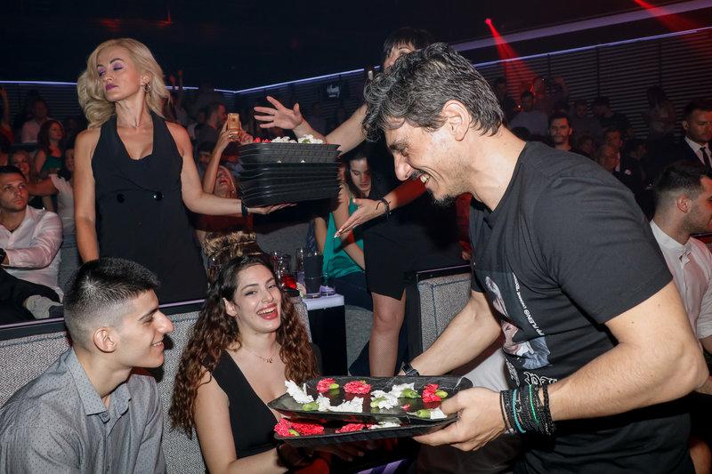 Ο Δημήτρης Γιαννακόπουλος διασκέδασε με την ομάδα του Παναθηναϊκού