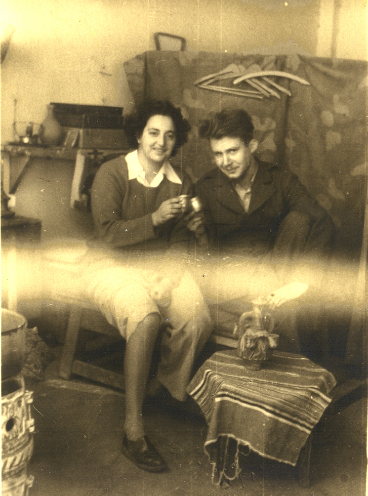 Η Ναταλία Μελά, στο σπίτι της με τον Βλαδίμηρο Μακ.