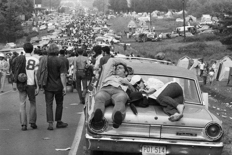 Γύρω στους 500 χιλιάδες νεαρούς πήγαν στο Φεστιβάλ κλείνοντας τους δρόμους της περιοχής.