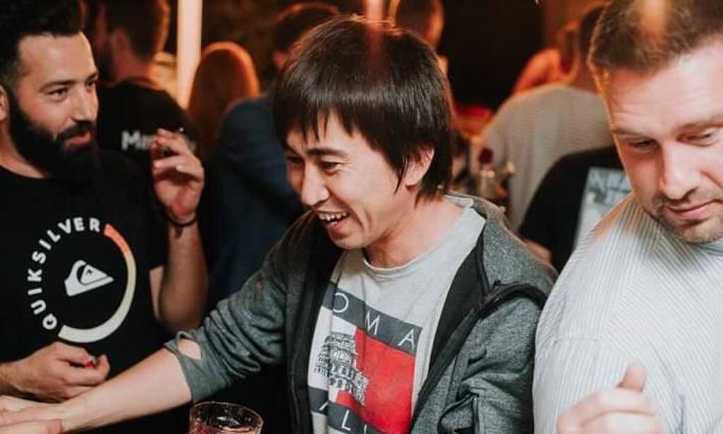 Ο Ζαχίρ στο πάρτι του MasterChef 3