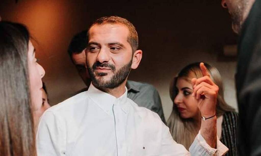 Ο Λεωνίδας Κουτσόπουλος στο πάρτι του MasterChef 3