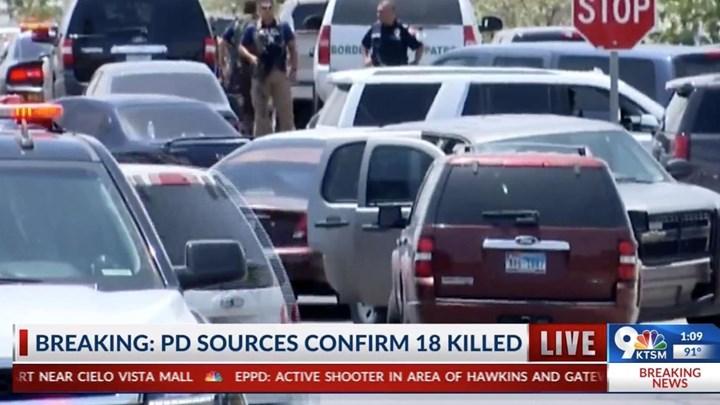Μακελειό στο Τέξας: Ενοπλος άνοιξε πυρ σε πολυκατάστημα -18 νεκροί, πολλοί τραυματίες