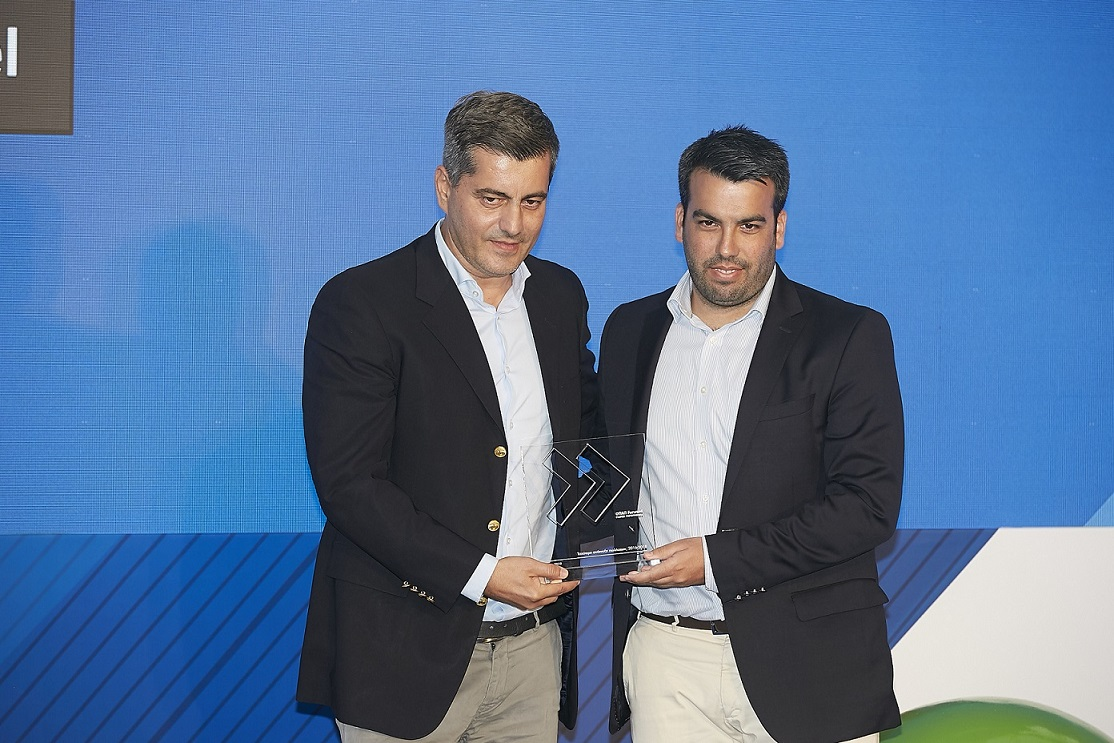 O Οδυσσέας Χριστοφόρου, Επικεφαλής Εταιρικών και Ρυθμιστικών Υποθέσεων του ΟΠΑΠ και o Διονύσης Δανηλάτος, Γενικός Διευθυντής Ελλάδας της Spotawheel