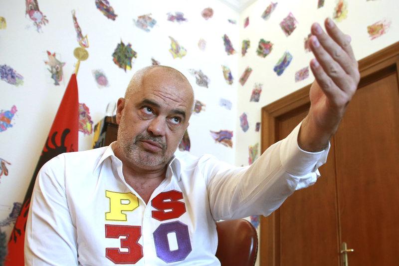 Ο πρωθυπουργός της Αλβανίας, Έντι Ράμα.