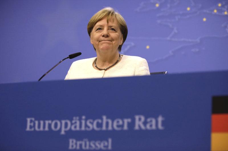 Η Γερμανίδα καγκελάριος, Άνγκελα Μέρκελ.
