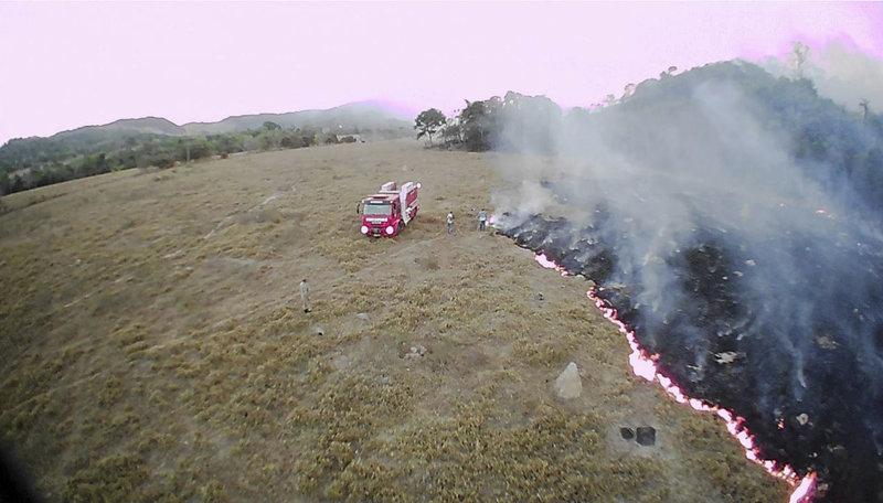 Η Βραζιλία αντιμετωπίζει το μεγαλύτερο κύμα πυρκαγιών της τελευταίας πενταετίας.
