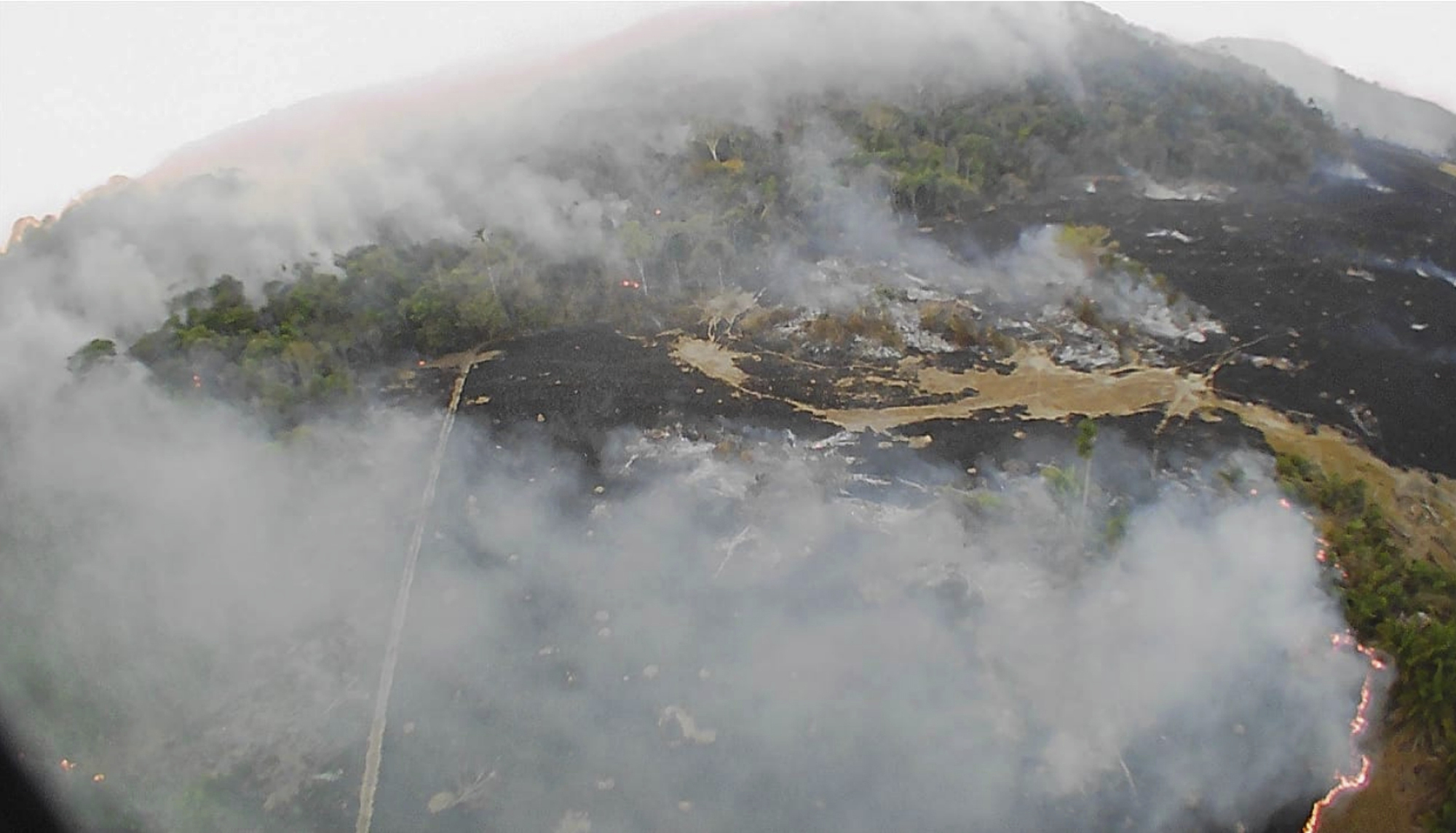 Η φωτιά στον Αμαζόνιο καίει το δάσος