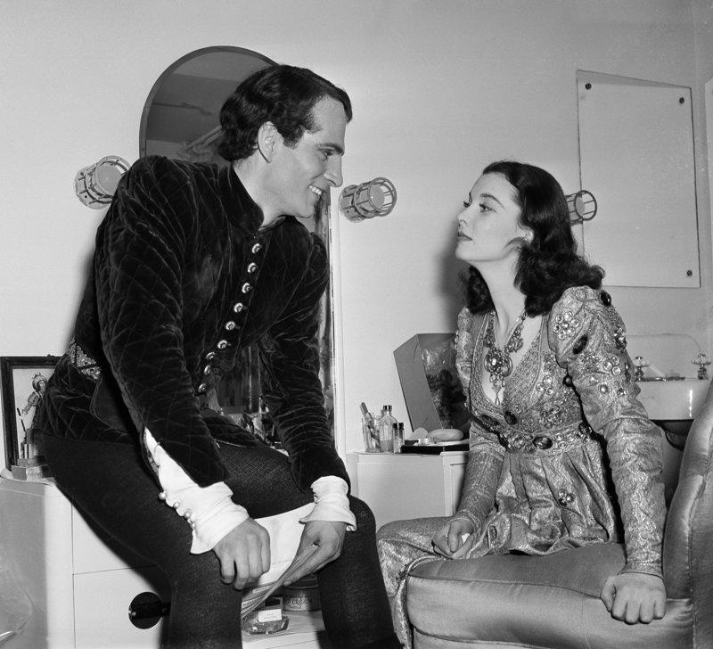 Η Βίβιαν Λι με τον Λόρενς Ολίβιε τη χρονιά που παντρεύτηκαν, το 1940 .