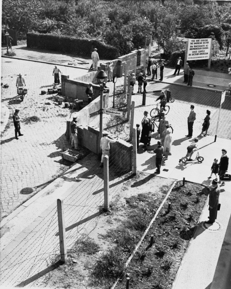 Χτίσιμο του Τείχους του Βερολίνου